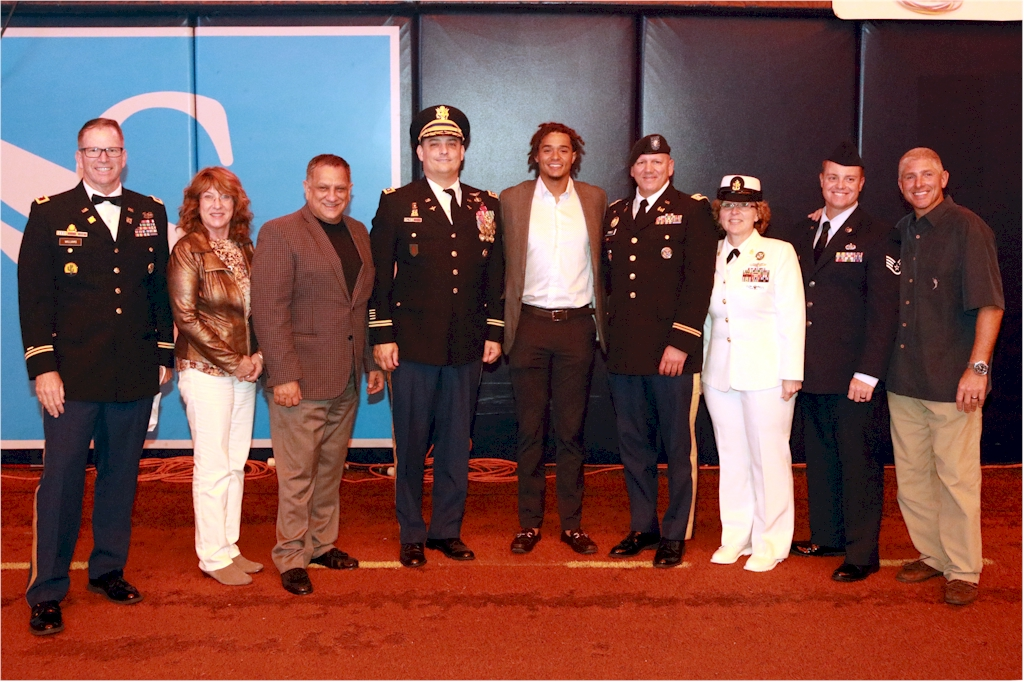 Ted Williams HoF Induction - Military Honorees - Chris Archer - MEL - 02182017